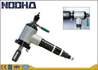 Çin 8.15kgs Pneumatic Beveling Tools , Cold Cutting Machine Compact Design Fabrika